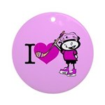 I heart Nancy Boys Ornament (Round)