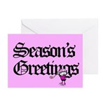 Nancy Boys Season's Greeting Cards (Pk of 10)