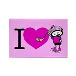 I heart Nancy Boys Rectangle Magnet (100 pack)