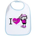 I heart Nancy Boys Bib