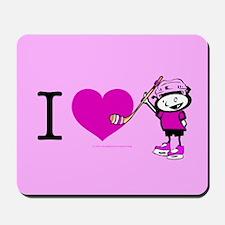 I heart Nancy Boys Mousepad