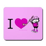 I heart Nancy Boys Mousepad