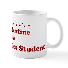 Valentine: Peace Studies Stud Mug