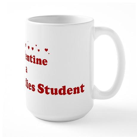Valentine: Museum Studies Stu Large Mug