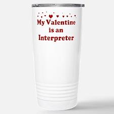 Valentine: Interpreter Travel Mug