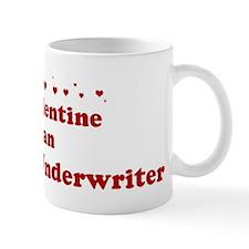 Valentine: Insurance Underwri Mug