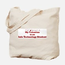 Valentine: Info Technology St Tote Bag