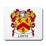 Lewys Coat of Arms Mousepad