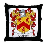 Lewys Coat of Arms Throw Pillow
