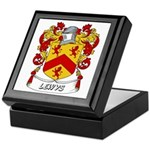 Lewys Coat of Arms Keepsake Box