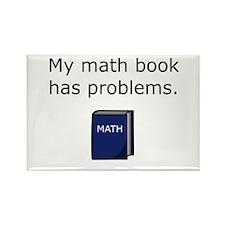 Math Book Rectangle Magnet