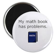 """Math Book 2.25"""" Magnet (10 pack)"""