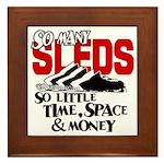 So Little Time, Space & Money Framed Tile