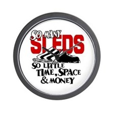 So Little Time, Space & Money Wall Clock