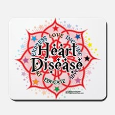 Heart Disease Lotus Mousepad