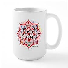 Heart Disease Lotus Mug