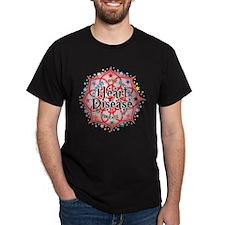 Heart Disease Lotus T-Shirt