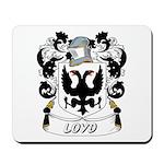 Loyd Coat of Arms Mousepad