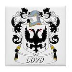 Loyd Coat of Arms Tile Coaster