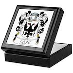 Loyd Coat of Arms Keepsake Box