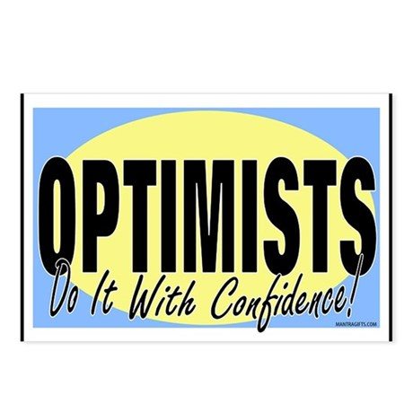 Optimists Postcards (Package of 8)