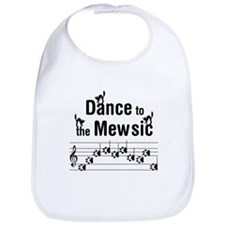 Dance to the Mew Music Bib