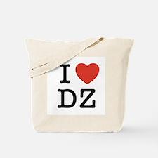 I Heart DZ Tote Bag