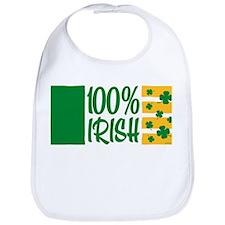 100% Irish Bib