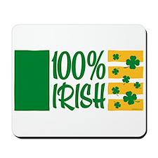 100% Irish Mousepad