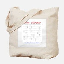 Do you... SUDOKU? Tote Bag