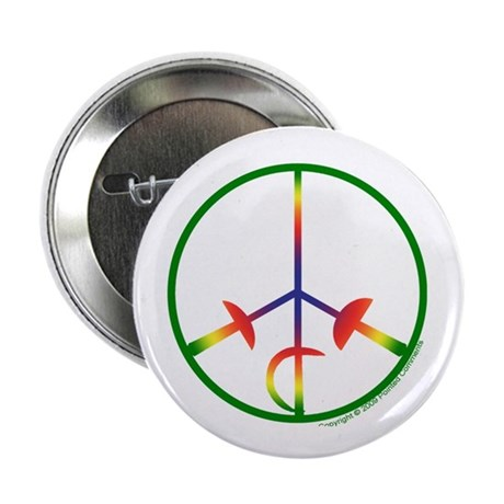 "Bright Spectrum 2.25"" Button (10 pack)"
