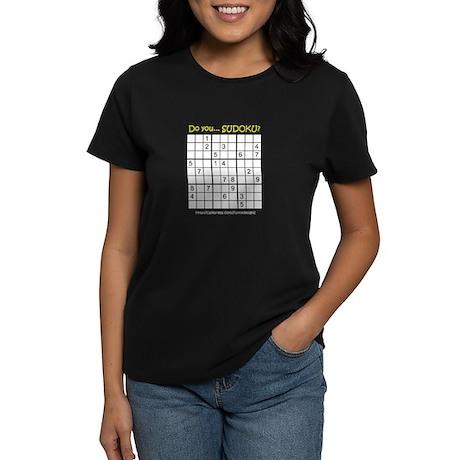 Do you... SUDOKU? Women's Dark T-Shirt