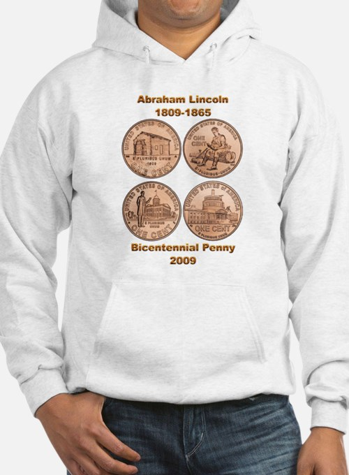 New Lincoln Penny Hoodie