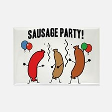 Sausage Party Rectangle Magnet