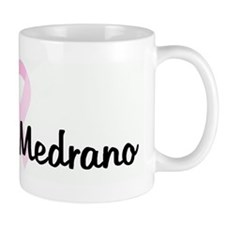 Christy Medrano pink ribbon Mug