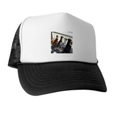 Mixed Hair Trucker Hat