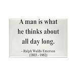 Ralph Waldo Emerson 9 Rectangle Magnet (10 pack)
