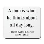 Ralph Waldo Emerson 9 Mousepad