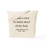 Ralph Waldo Emerson 9 Tote Bag