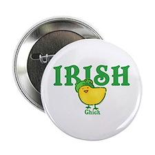 "Irish Chick 2.25"" Button"