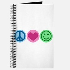 Peace Love Happiness Journal