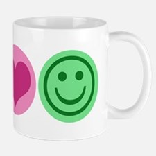 Peace Love Happiness Mug