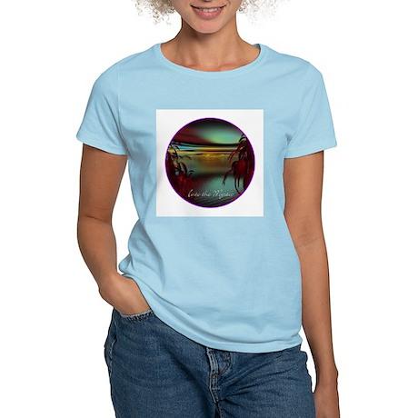 Into the Mystic design Women's Light T-Shirt