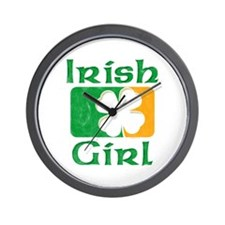 Irish Girl Wall Clock