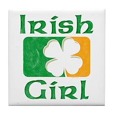 Irish Girl Tile Coaster
