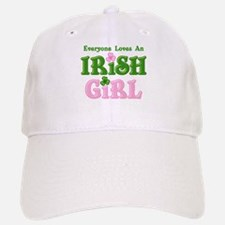 Loves An Irish Girl Baseball Baseball Cap