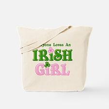 Loves An Irish Girl Tote Bag