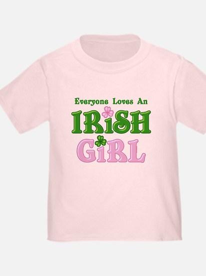 Loves An Irish Girl T