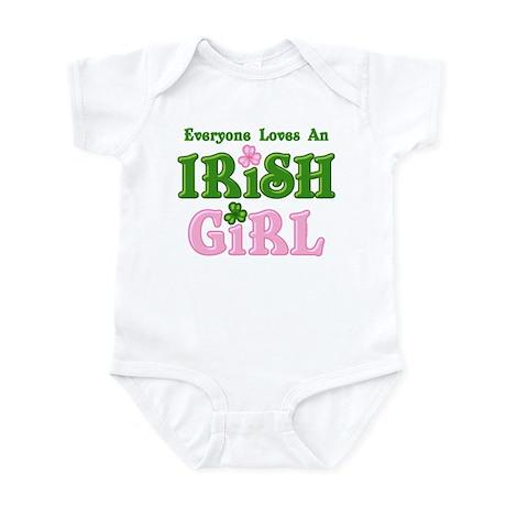 Loves An Irish Girl Infant Bodysuit