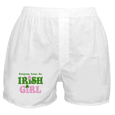 Loves An Irish Girl Boxer Shorts